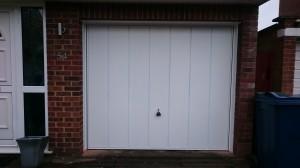 Garador Windsor Steel Up Over Garage Doors Installed In Hazlemere Bucks Garage Doors High Wycombe Servicing Repairs Fitting